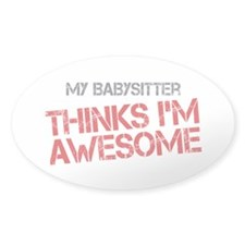 Babysitter Awesome Decal