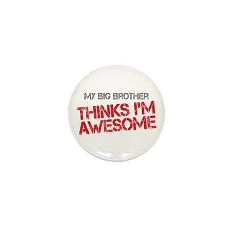 Big Brother Awesome Mini Button (100 pack)