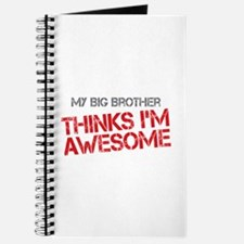 Big Brother Awesome Journal