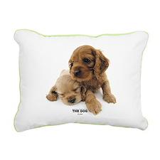 American Cocker Spaniel Rectangular Canvas Pillow