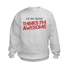 Big Sister Awesome Sweatshirt