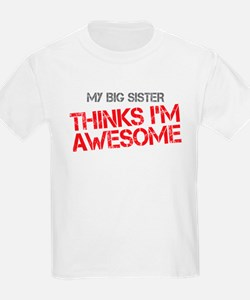 Big Sister Awesome T-Shirt