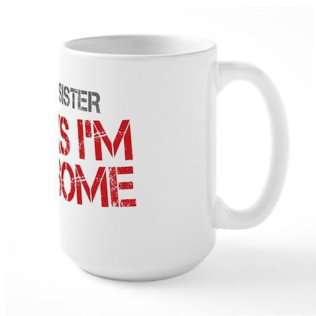 Big Sister Awesome Large Mug
