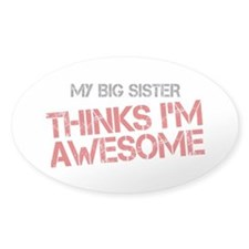 Big Sister Awesome Decal