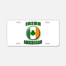 PROUD IRISH Aluminum License Plate