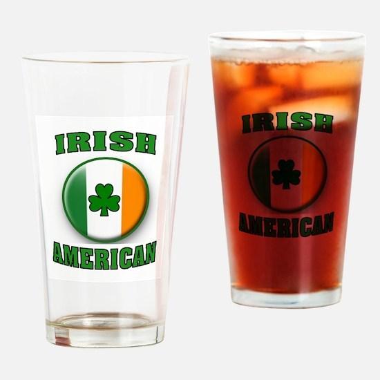 PROUD IRISH Drinking Glass