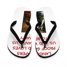 landscaper Flip Flops