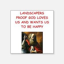 landscaper Sticker