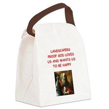 landscaper Canvas Lunch Bag
