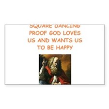 square dancing Decal