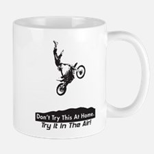Motorcycle Stunt Mug