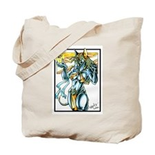 Furry Egyptian Were II Tote Bag