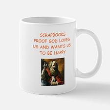 scrapbook Mugs