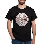 Japanese Design Dark T-Shirt