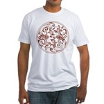 Japanese Design Fitted T-Shirt