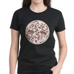 Japanese Design Women's Dark T-Shirt