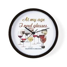 Glasses_1 Wall Clock