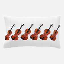 Violins / Violas in a Row Pillow Case
