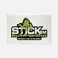 Stick'em Bowfishing Rectangle Magnet