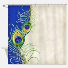 Vintage Peacock Feathers Modern Simple Watercolor