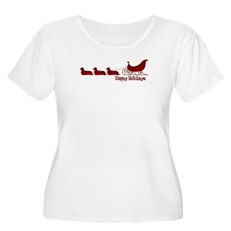 DoxieLong-sleighT Plus Size T-Shirt