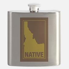 Idaho Native (Brn) - Flask
