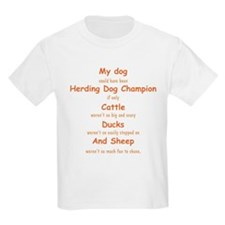 Herding Champion CDS T-Shirt