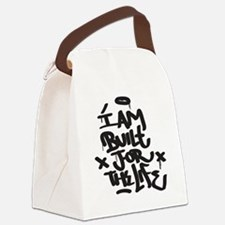 I am built for the life Canvas Lunch Bag