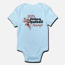 2013 Fantasy Football Champ Infant Bodysuit
