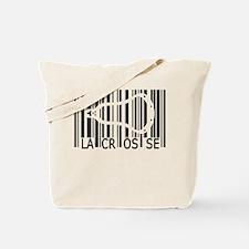 Lacrosse Barcode Tote Bag