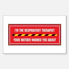 I'm the Therapist Rectangle Decal