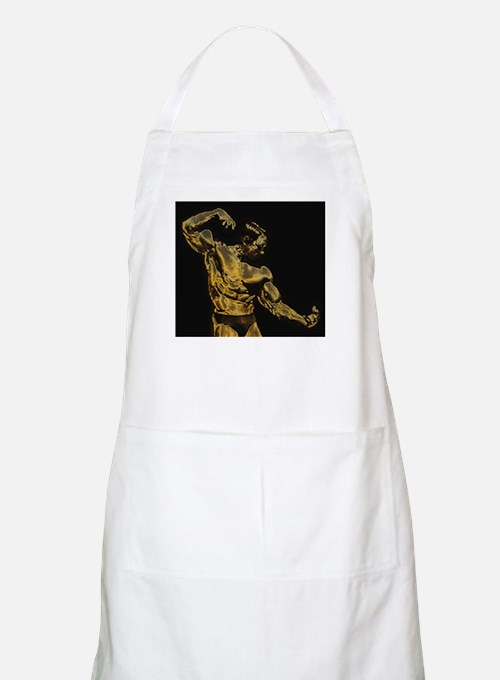 Body Building BBQ Apron