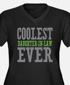 Coolest Daughter-In-Law Ever Women's Plus Size V-N