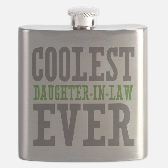 Coolest Daughter-In-Law Ever Flask