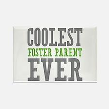 Coolest Foster Parent Ever Rectangle Magnet