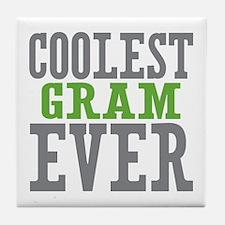 Coolest Gram Ever Tile Coaster