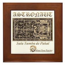 Sala Tumba de Pakal Framed Tile