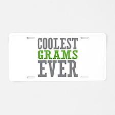 Coolest Grams Ever Aluminum License Plate