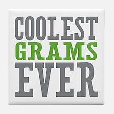 Coolest Grams Ever Tile Coaster
