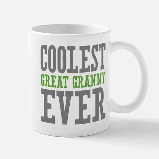 Coolest Great Granny Ever Mug