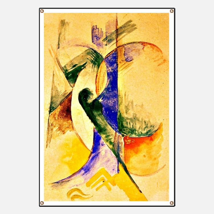 Franz Marc - Abstract Composition Banner