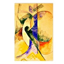 Franz Marc - Abstract Com Postcards (Package of 8)
