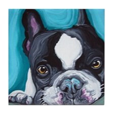 Frenchie Tile Coaster