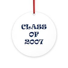 Class of 2007 Graduates Ornament (Round)