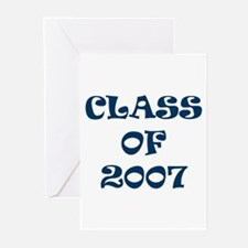 Class of 2007 Graduates Greeting Cards (Package of