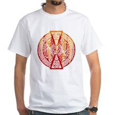 Celtic Knotwork Dragons Fire Shirt