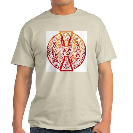 Celtic Knotwork Dragons Fire Light T-Shirt
