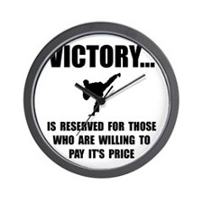 Victory Martial Arts Wall Clock