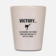 Victory Martial Arts Shot Glass
