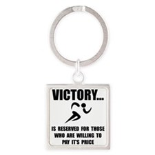 Victory Runner Keychains